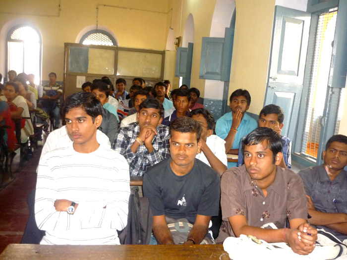 lecture by Prof. R.Y.Denis ,Department of Mathematics, Ghorakpur on Life and works of Ramanujan